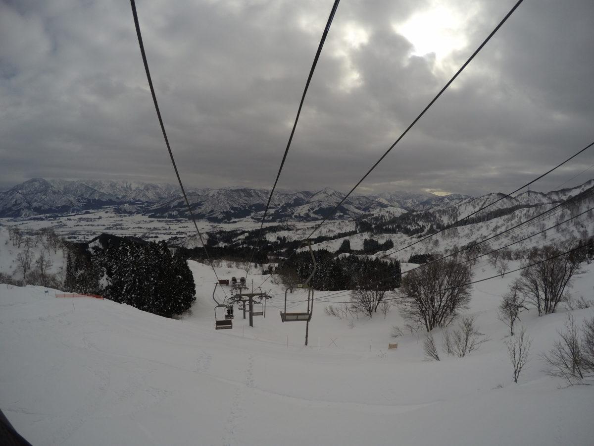 上越国際スキー場レビュー!1月の積雪量やゲレンデ情報!混雑?