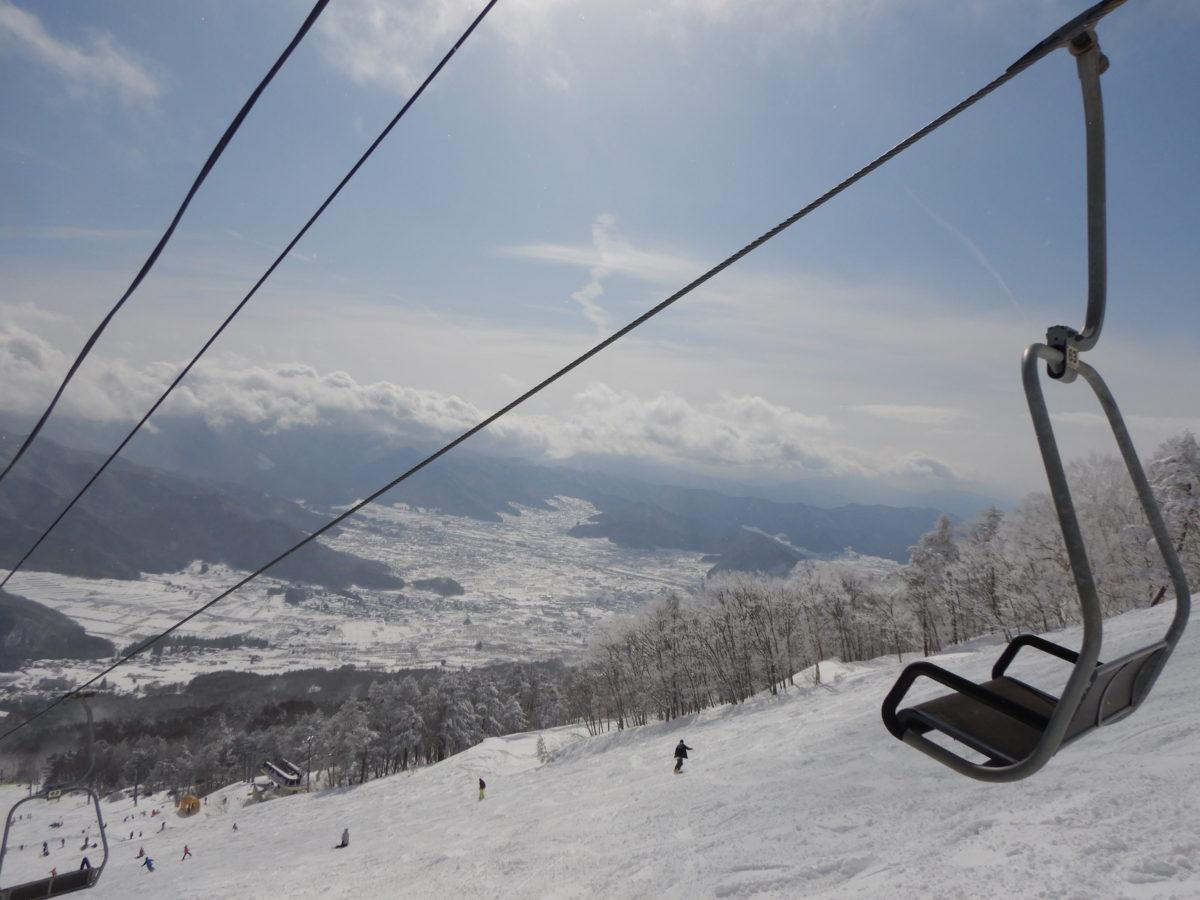 よませ温泉スキー場の口コミ(レビュー)!2月の積雪量や混雑状況は?