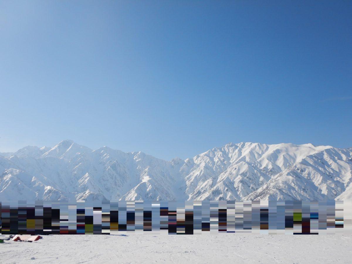 白馬五竜&Hakuba47の混雑状況!3月初旬の口コミ!積雪量やパークアイテムは?