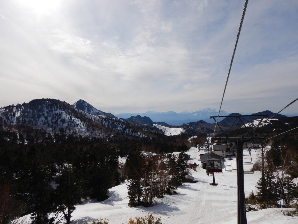 横手山スキー場でスノーボードしたレビュー!GW中の積雪量や混雑は?