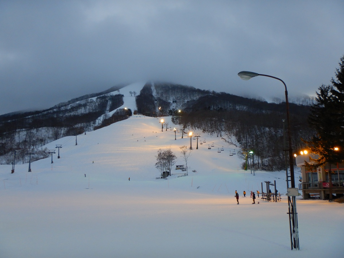 斑尾~飯山のバス利用が超絶楽だった!スキー場1月下旬なのに雪がない?!