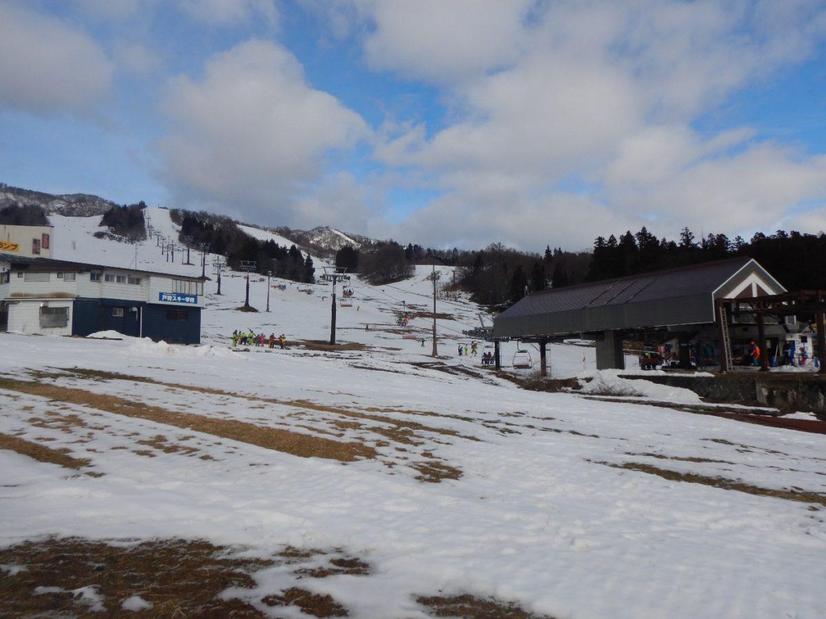 戸狩温泉スキー場へのバスのアクセスは簡単?1月下旬の混雑状況や積雪量は?