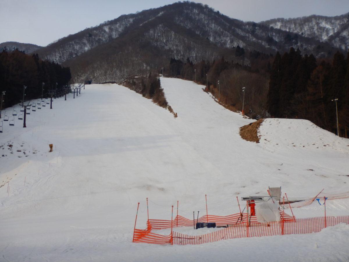 白馬さのさかスキー場の2月中旬の積雪量や混雑状況?口コミ(ブログ)!
