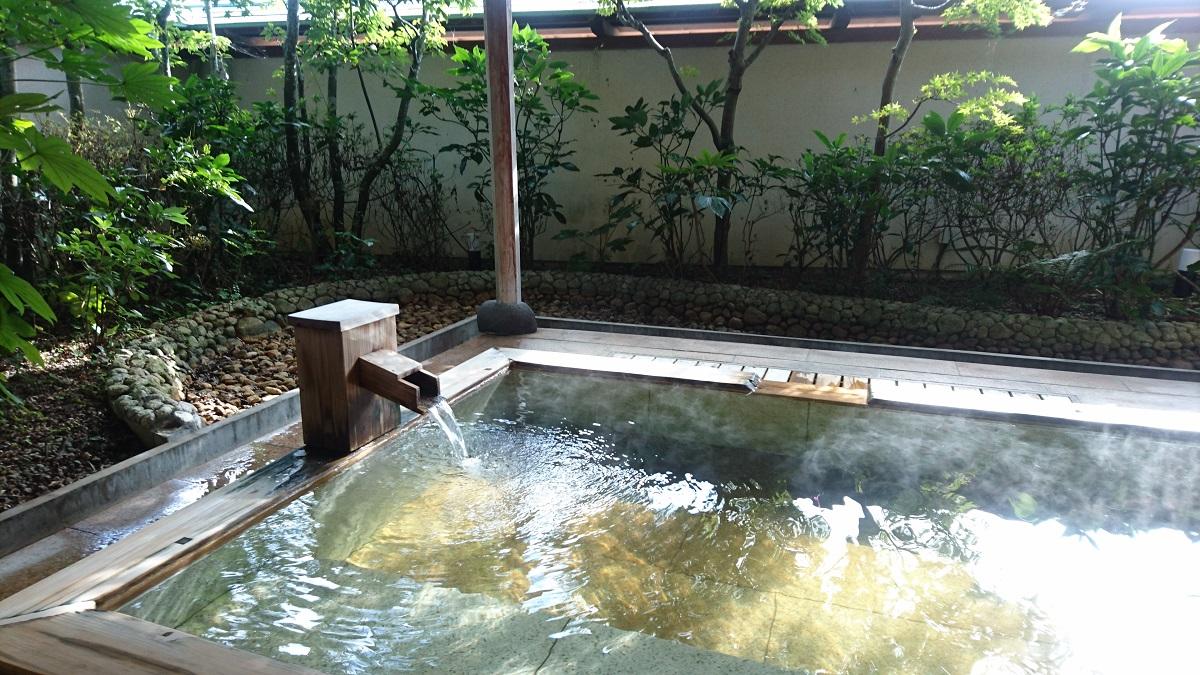 青松庭白砂の温泉が最高すぎた!日帰り入浴も可能?使ってみたよ!