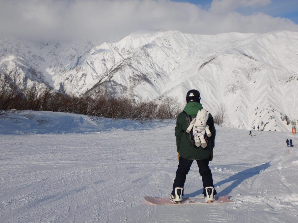 白馬五竜&47の12月の積雪量は?新雪が凄くて最高のシーズンスタート!