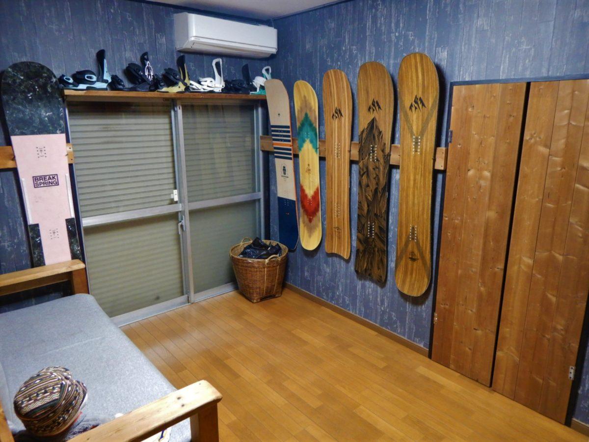 壁紙の変え方!スノーボードが映える壁紙に変更してスノボ部屋を作った!